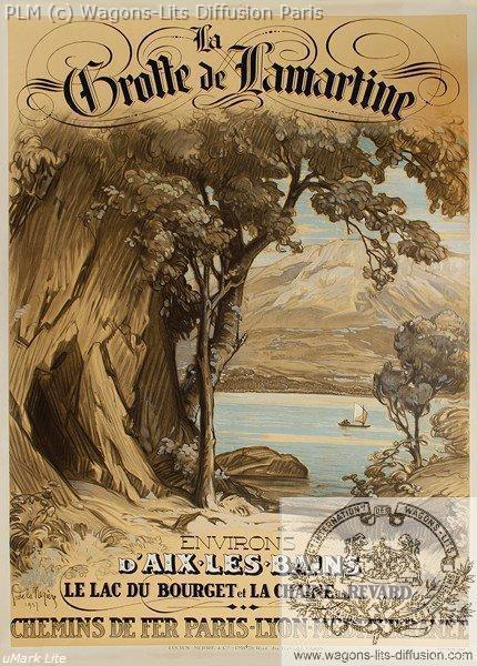 PLM Aix les Bains Grotte lamartine (Ref N° 17