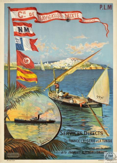 PLM Algérie tunisie maroc Navigation mixte  (Ref N° 1039