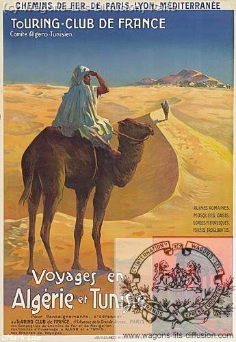 PLM Algerie Tunisie Touring  (ref N° 1033)