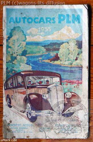 PLM Autocars 1936 ( Ref N° 93