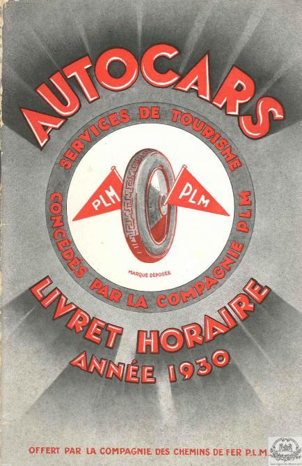 PLM autocars PLM 1930 pub  (Ref N° 1044