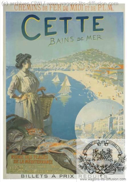 PLM Cette Bains de mer  (ref N° 898)