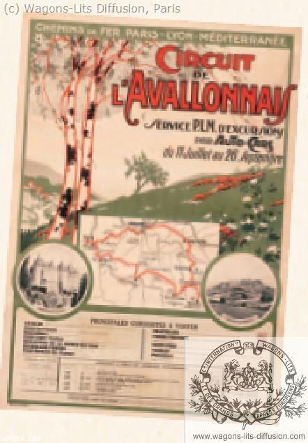 PLM Circuit l'Avallonnais  (ref N° 1010)