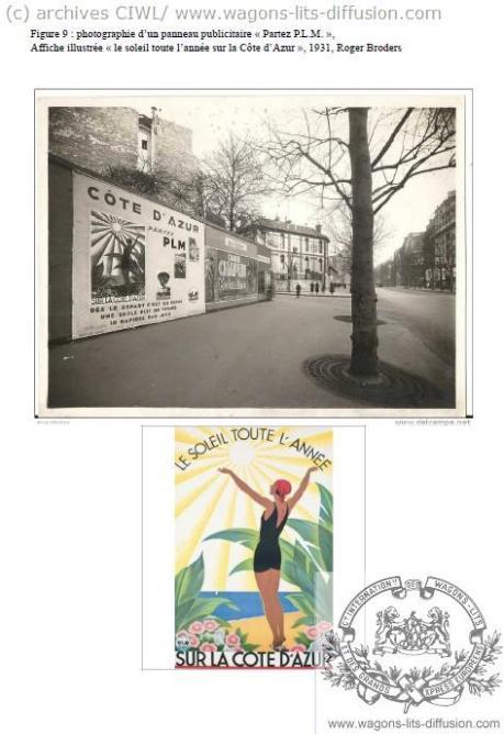 PLM Cote Azur Affichage
