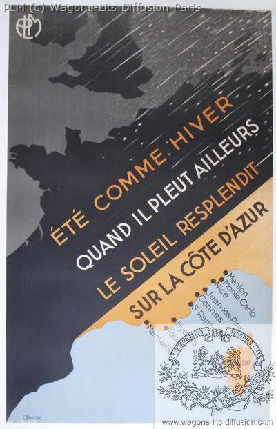 PLM Cote d'Azur Eté Hiver (Ref N° 278
