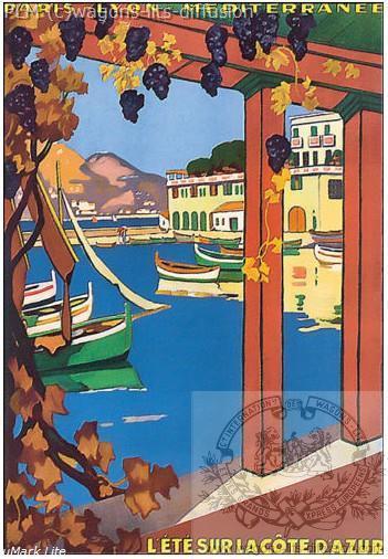 PLM Ete sur la côte d'Azur