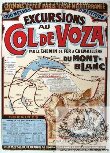 PLM excursions Col de Voza (Ref N° 333