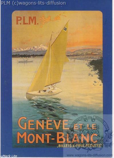 PLM Geneve MONT BLANC Suisse