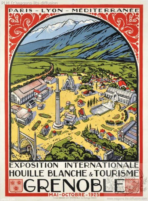 PLM grenoble 1925 exposition-internationale (Ref N° 381