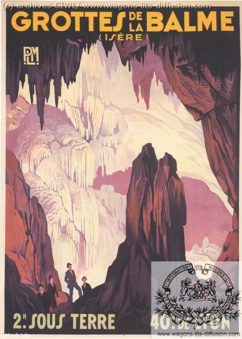 PLM Grottes de la Balme Isere  (ref N° 914)
