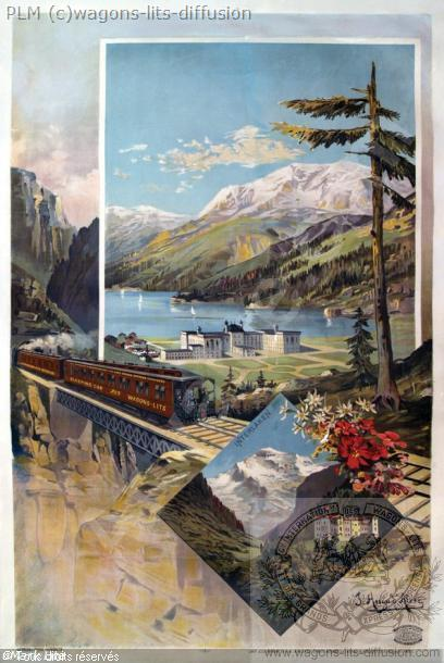 PLM Interlaken Alesi sans marquage suisse (Ref N° 409