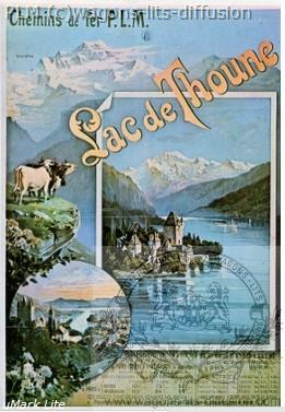 PLM Lac de Thoune Suisse