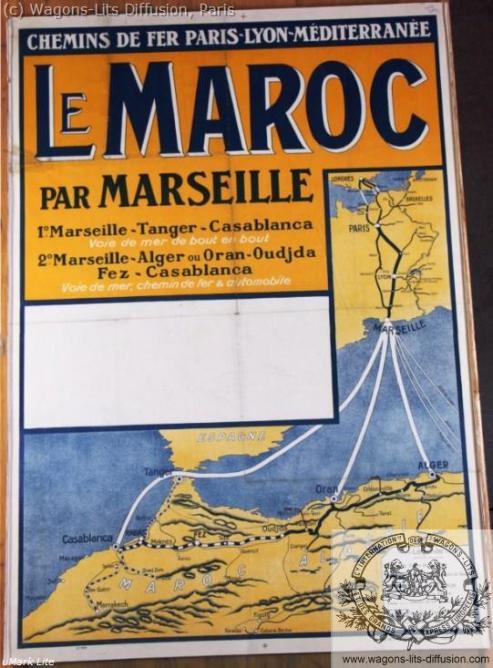 PLM Maroc par Marseille 2 (Ref N° 1022