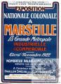 PLM Marseille Expo Coloniale 1922 (Ref N° 500