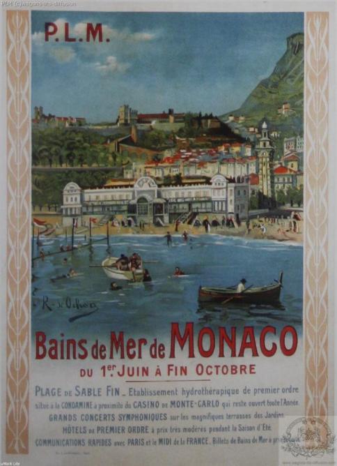 PLM Monaco Bains de mer