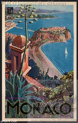PLM Monaco vue d'en haut
