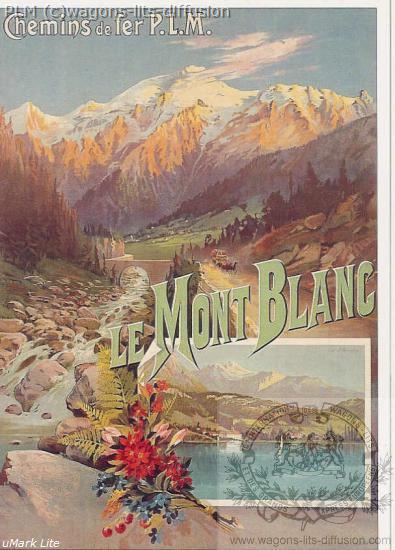 PLM MONT Blanc 5 (Ref N° 557