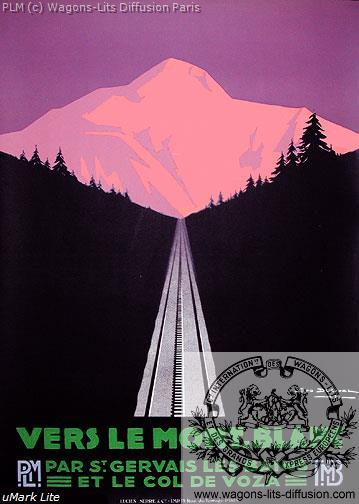 PLM Mont Blanc Col de Voza 1 (Ref N° 561