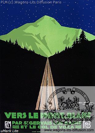 PLM Mont Blanc Col de Voza 3 (Ref N° 563