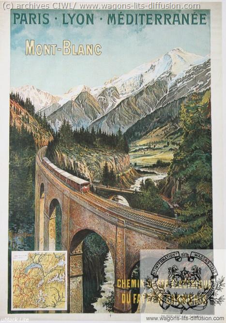 PLM Mont Blanc Fayet à Chamonix (Ref N° 920