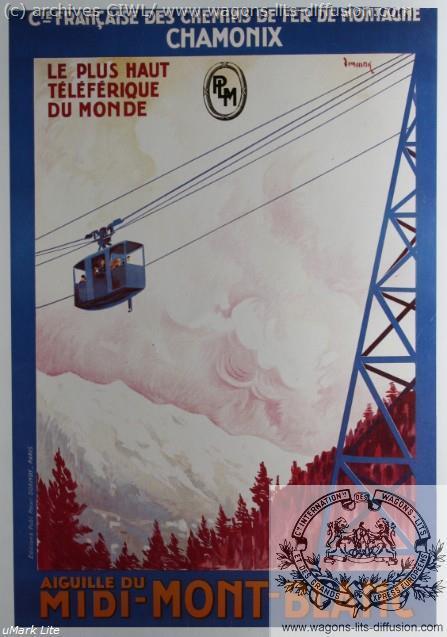 PLM Mont blanc teleferique (Ref N° 899