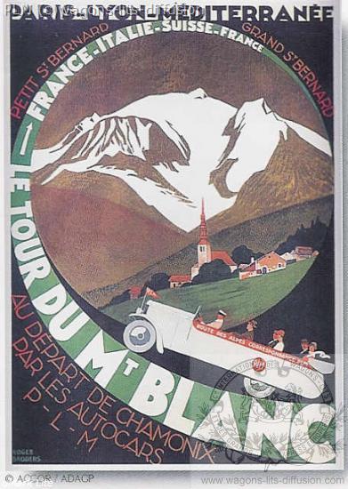 PLM MONT Blanc TOUR DU