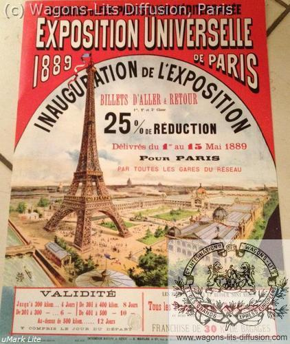 PLM Paris Expo universelle 1889