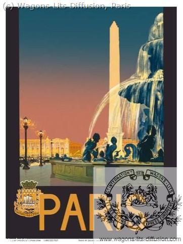 PLM Paris Grands Réseaux 3  (ref N° 1016)