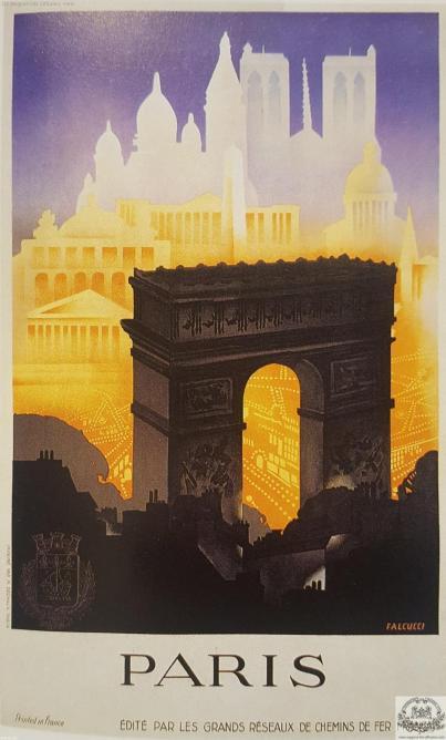 PLM Paris Grands Réseaux Arc Triomphe  (ref N° 1015)
