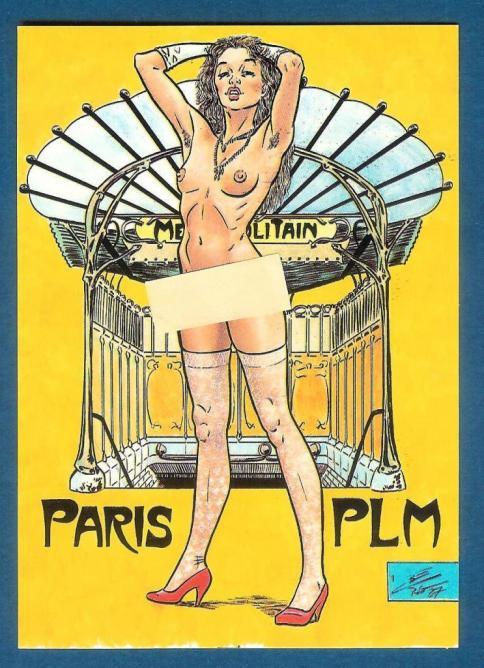 PLM Paris pastiche