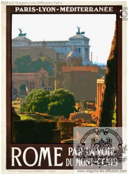 PLM Rome Mont Cenis