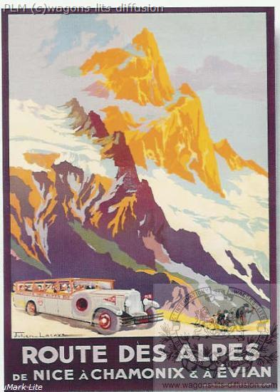 PLM Route des Alpes Nice Evian (Ref N° 692