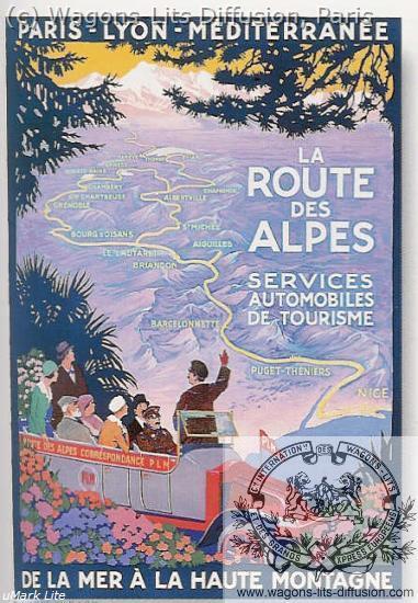 PLM Route Alpes (Ref N° 698
