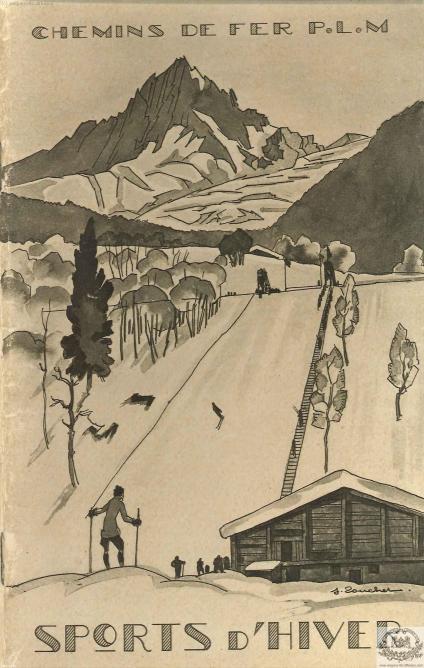 PLM sports d'hiver brochure pub (Ref N° 1048