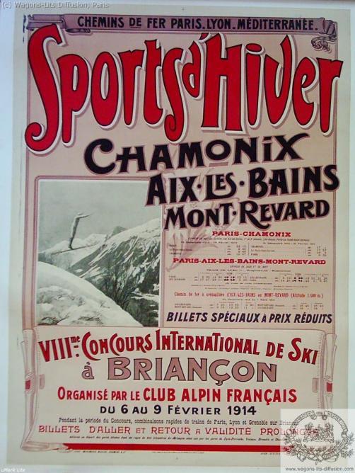 PLM Sports Hiver Chamonix Aix 1914 Ref 991