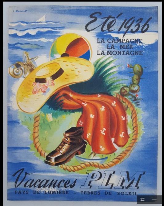PLM vacances 1936