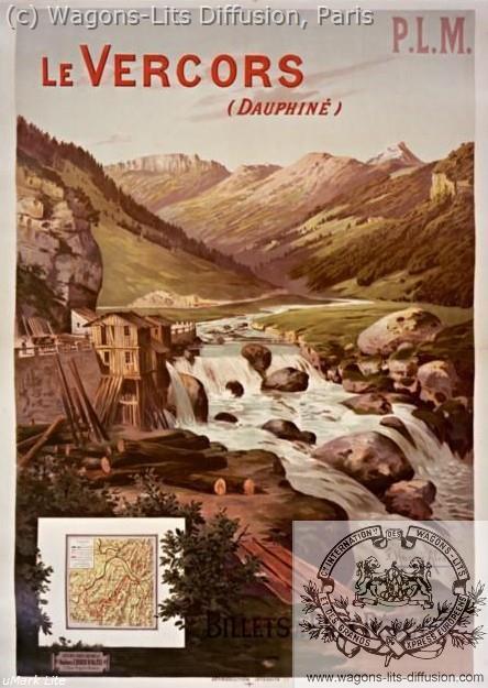 PLM VERCORS DAUPHINE  (ref N° 833)