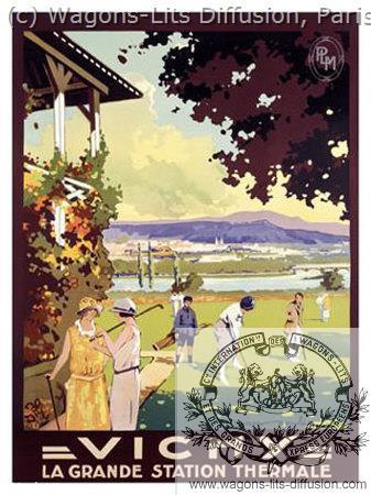 PLM Vichy golf 2 (Ref N° 858