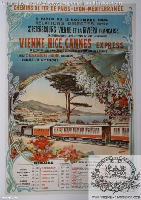 PLM WL Vienne Nice Cannes (Ref N° 931