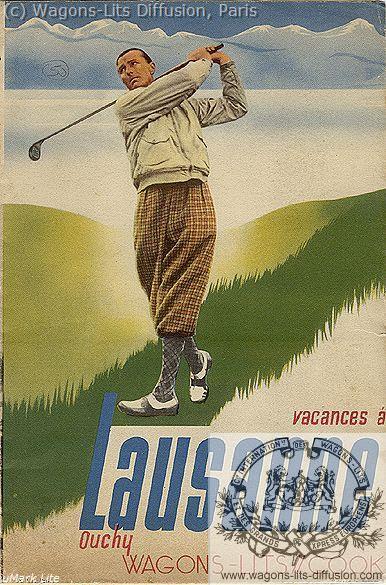 WL Cook Lansanne 1937