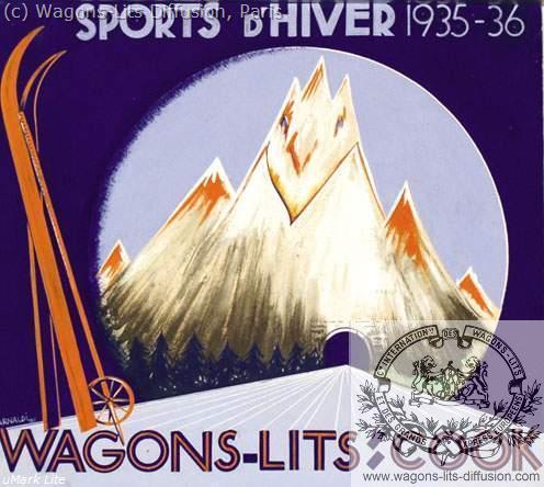 WL Cook sports d'hiver 1935