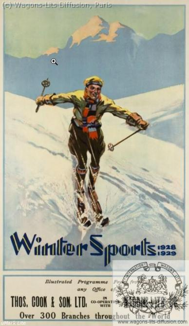 WL Cook Winter sports 1929
