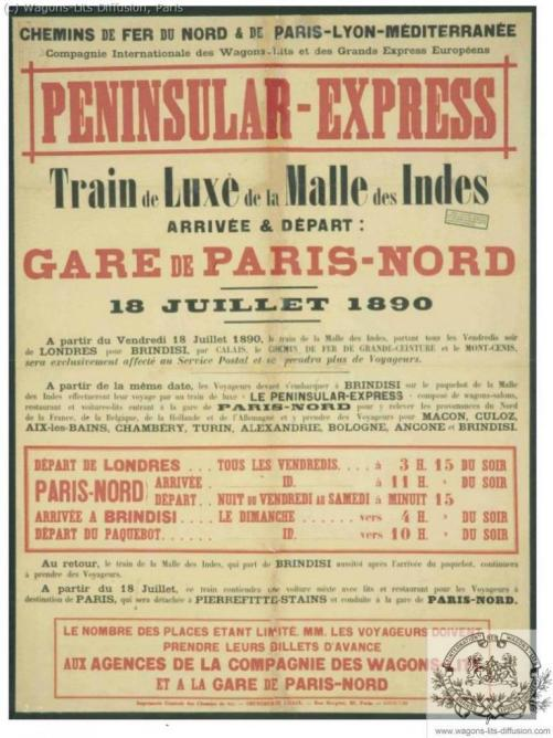 WL Peninsular Express Malle des Indes