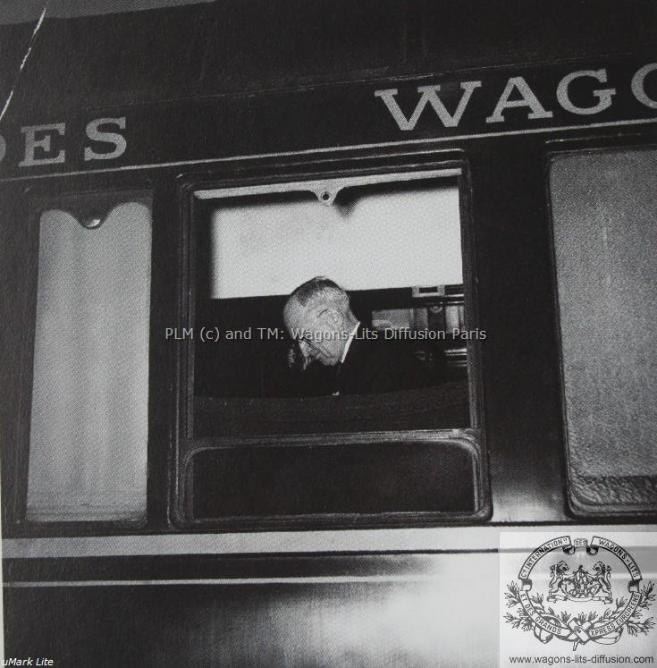 WL Président Harry Truman sur le Train Bleu