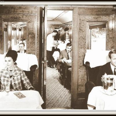 Ciwl passagers voiture pullmann 1951