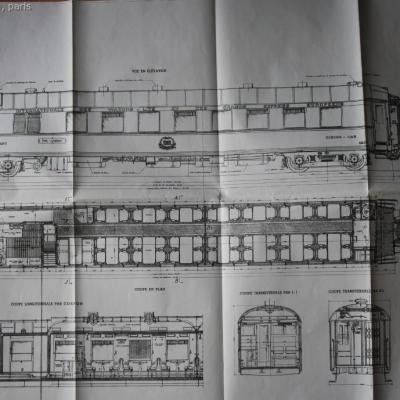 Ciwl plan VR voiture restaurant N°4209
