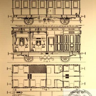 Ciwl voiture restaurant N° 3 de  1872