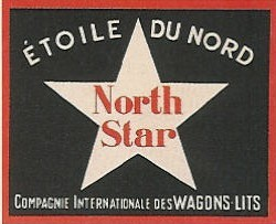 Etiquette bagage north star