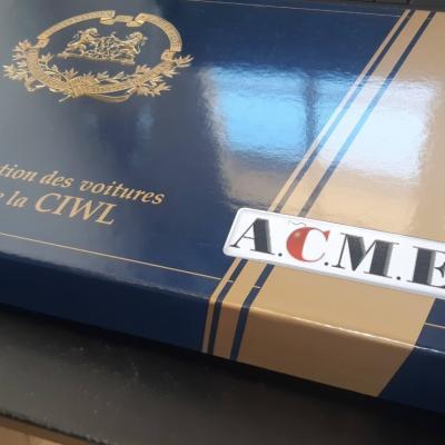 licence jeu/jouet WL Acme ITA