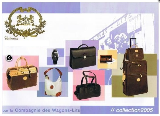 licence accessoires voyage CIWL